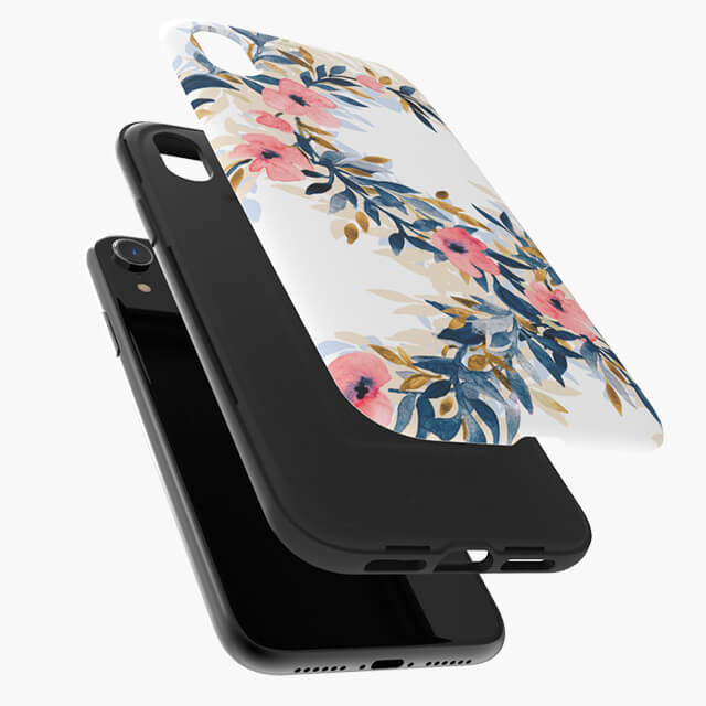 Designers Phone Cases dual protection for iPhone Xr