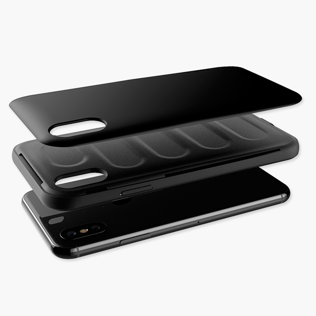 StrongFit Colors Black / Black iPhone Xs / X