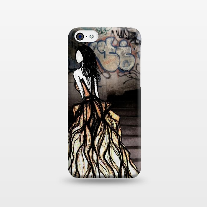 AC123811, Phone Cases, iPhone 5C, SlimFit, Amy Smith, Escape, Designers,