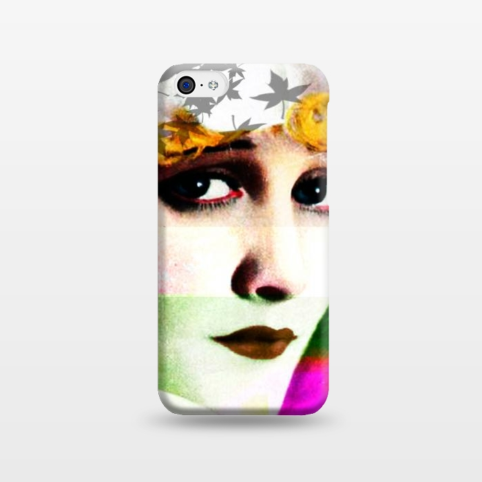 AC1238145, Phone Cases, iPhone 5C, SlimFit, Brandon Combs, Miss Moon, Designers,