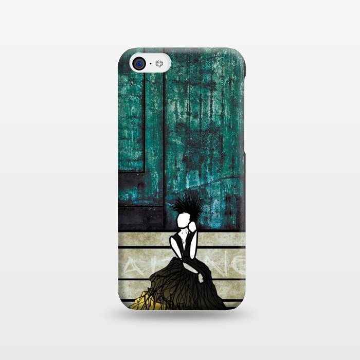 AC123815, Phone Cases, iPhone 5C, SlimFit, Amy Smith, Waiting, Designers,