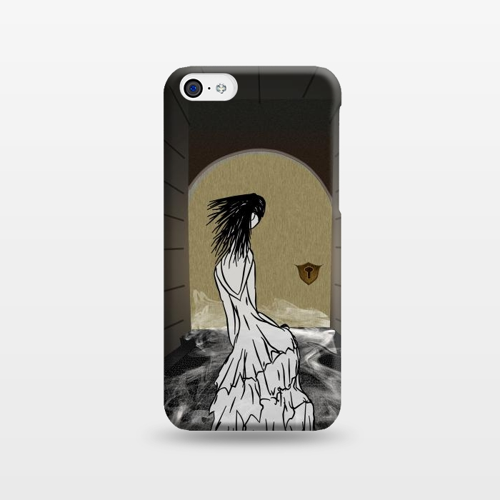 AC123816, Phone Cases, iPhone 5C, SlimFit, Amy Smith, Ghost in the Hallway, Designers,