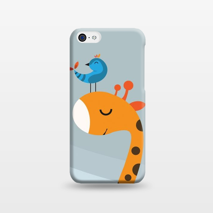 AC1238168, Phone Cases, iPhone 5C, SlimFit, Volkan Dalyan, Orange, Designers,