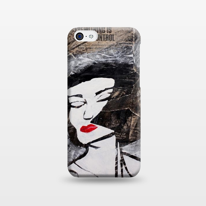 AC123817, Phone Cases, iPhone 5C, SlimFit, Amy Smith, Under Control, Designers,