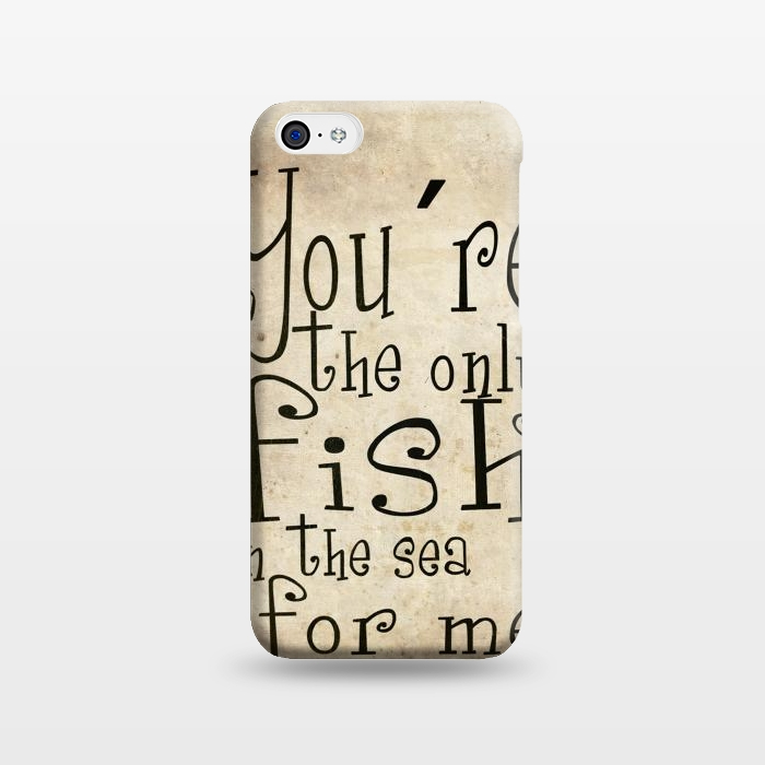 AC1238182, Phone Cases, iPhone 5C, SlimFit, Nicklas Gustafsson, You´re the only fish in the sea, Designers,