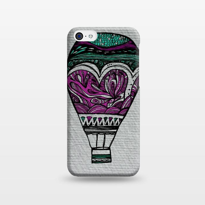 AC1238201, Phone Cases, iPhone 5C, SlimFit, Maria Teresa Canepa, Llevame Lejos, Designers,