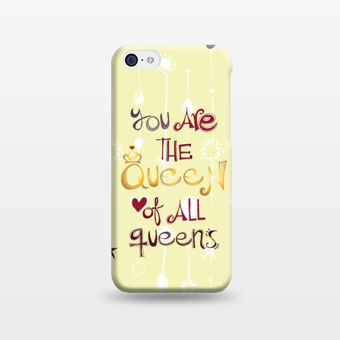 AC1238238, Phone Cases, iPhone 5C, SlimFit, MaJoBV, Queen Of All Queens, Designers,