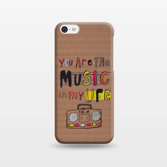 AC1238239, Phone Cases, iPhone 5C, SlimFit, MaJoBV, You are the Music, Designers,