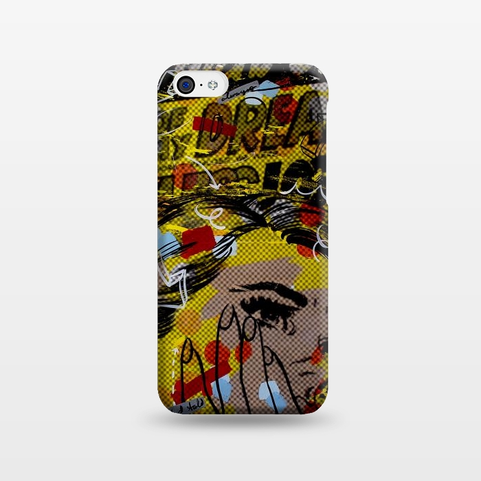 AC1238244, Phone Cases, iPhone 5C, SlimFit, Dan Monteavaro, Lucky Grad, Designers,