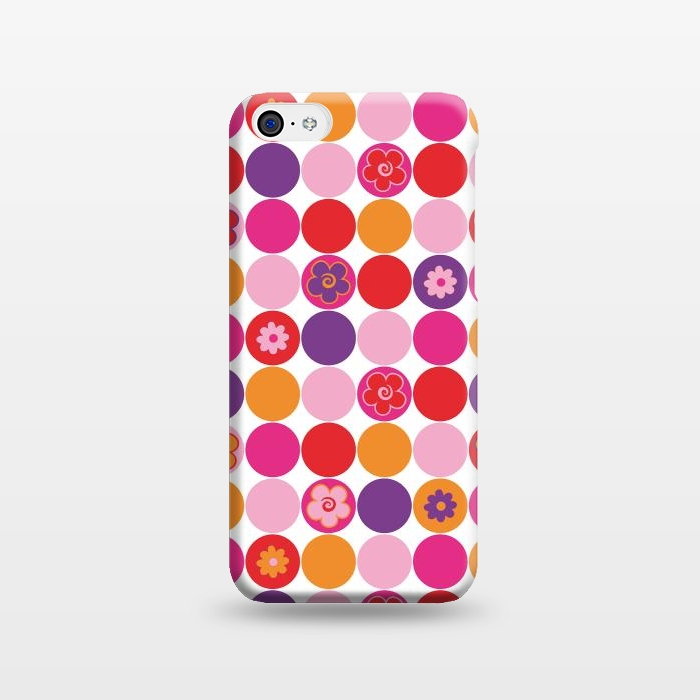 AC1238250, Phone Cases, iPhone 5C, SlimFit, Julia Grifol, Spring Circles, Designers,