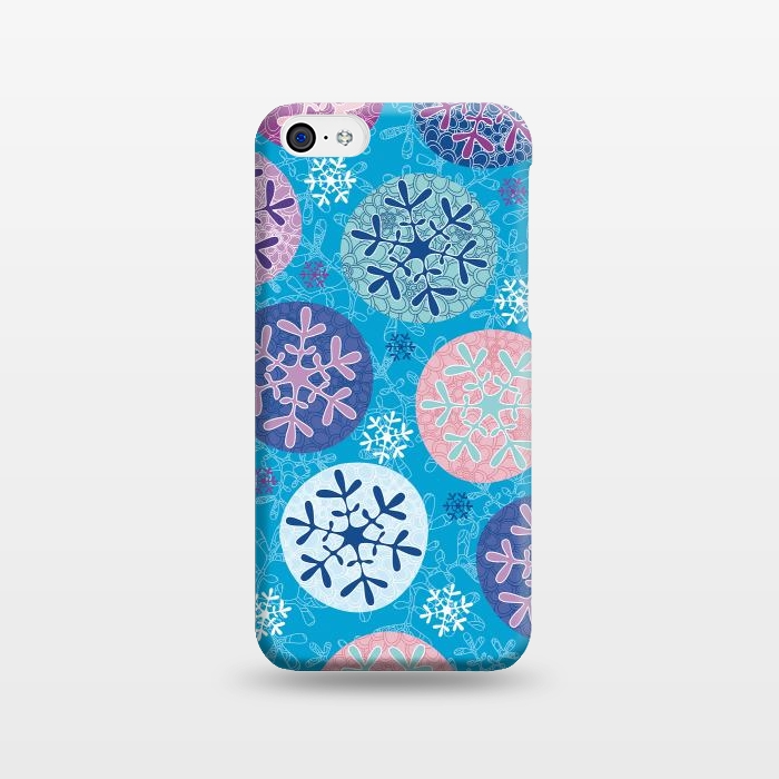 AC1238256, Phone Cases, iPhone 5C, SlimFit, Julia Grifol, Floral Wintel, Designers,
