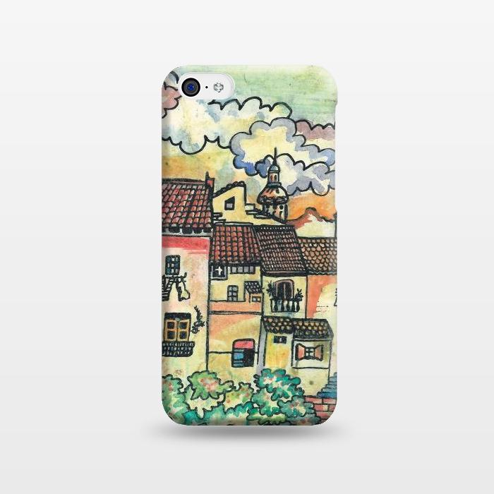 AC1238257, Phone Cases, iPhone 5C, SlimFit, Julia Grifol, A Spanish Village, Designers,