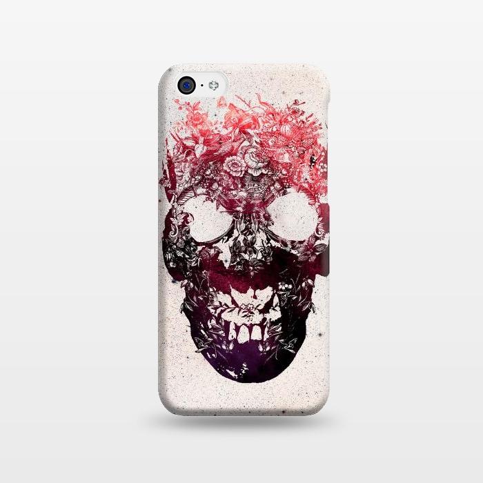 AC1238270, Phone Cases, iPhone 5C, SlimFit, Ali Gulec, Floral Skull, Designers,