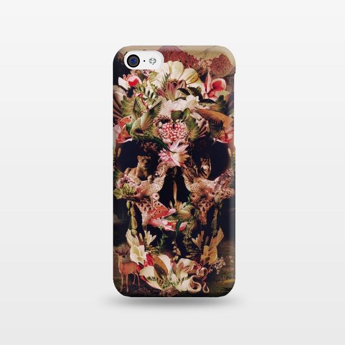 AC1238273, Phone Cases, iPhone 5C, SlimFit, Ali Gulec, Jungle Skull, Designers,