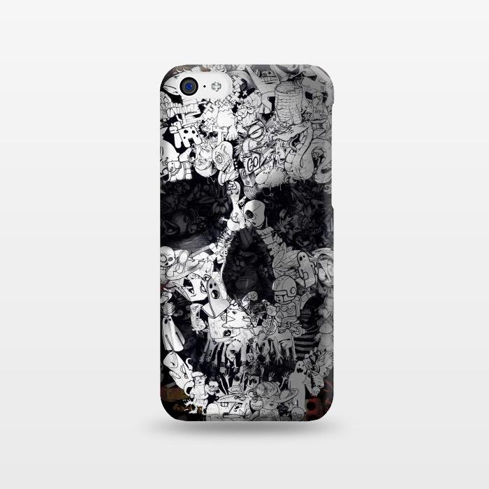 AC1238278, Phone Cases, iPhone 5C, SlimFit, Ali Gulec, Doodle, Designers,