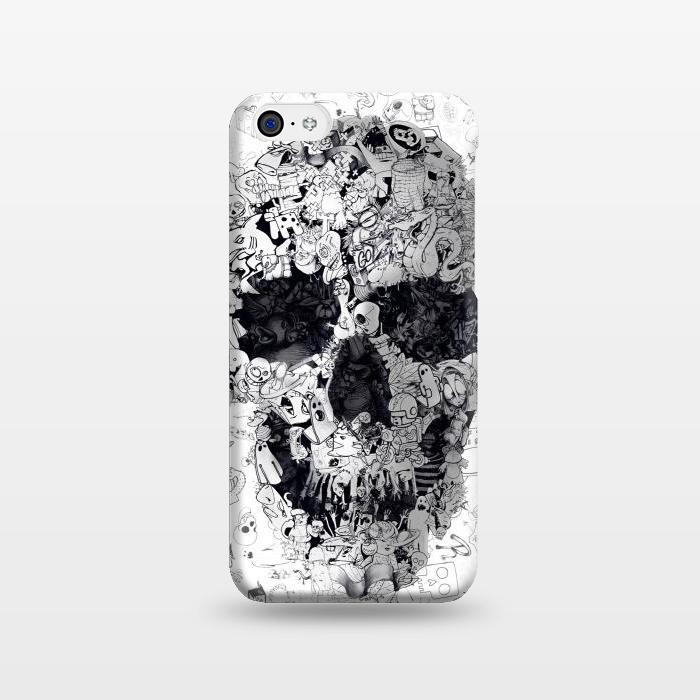 AC1238279, Phone Cases, iPhone 5C, SlimFit, Ali Gulec, Doodle Bw, Designers,