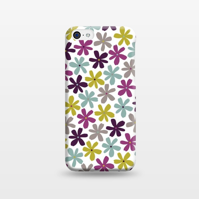 AC1238280, Phone Cases, iPhone 5C, SlimFit, Rosie Simons, Allium Ditsy, Designers,