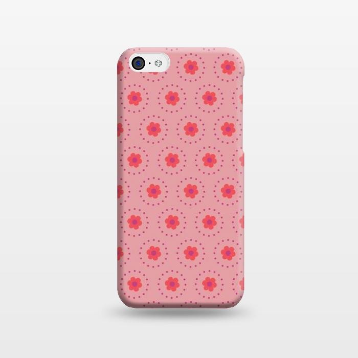 Pink Circular Floral
