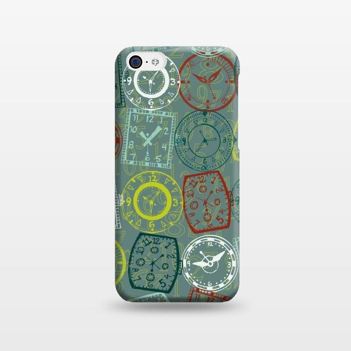 AC1238314, Phone Cases, iPhone 5C, SlimFit, Julie Hamilton, Vintage Watch, Designers,