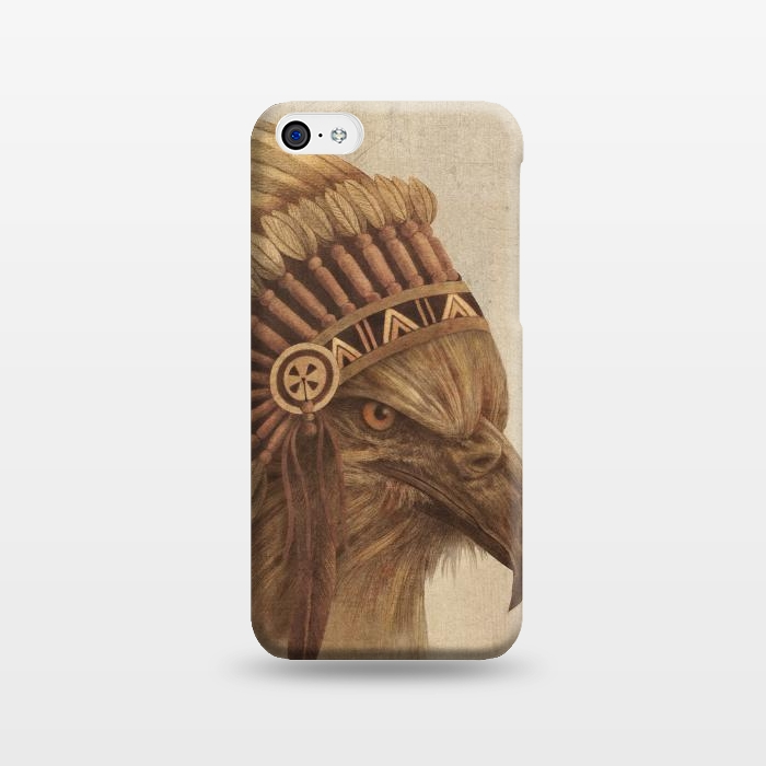 AC1238371, Phone Cases, iPhone 5C, SlimFit, Terry Fan, Eagle Chief, Designers,