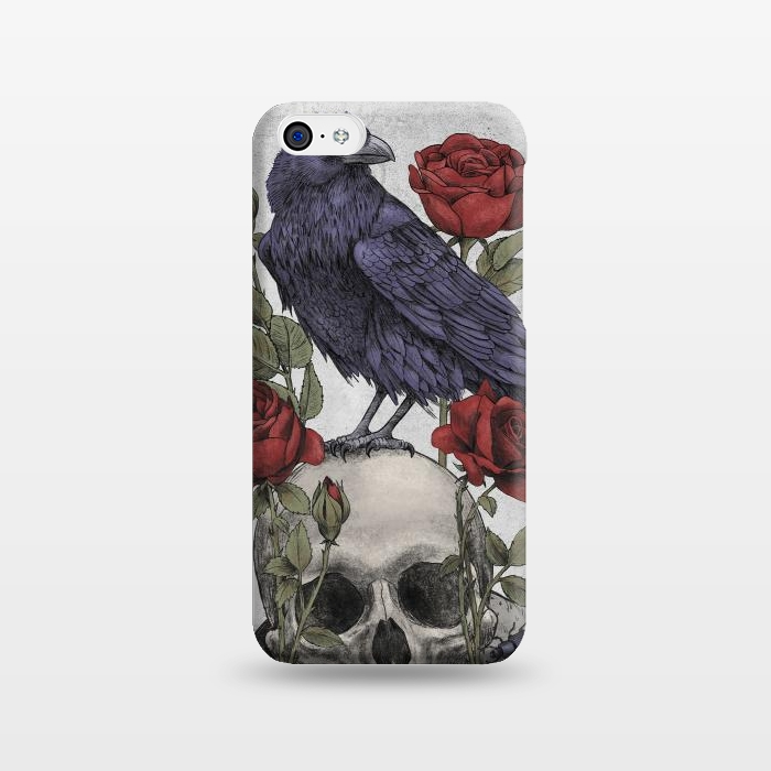 AC1238372, Phone Cases, iPhone 5C, SlimFit, Terry Fan, Memento Mori, Designers,