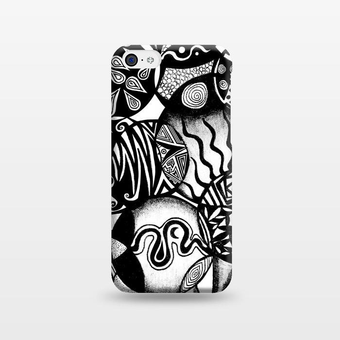 AC1238383, Phone Cases, iPhone 5C, SlimFit, Pom Graphic Design, Circles and Life, Designers,