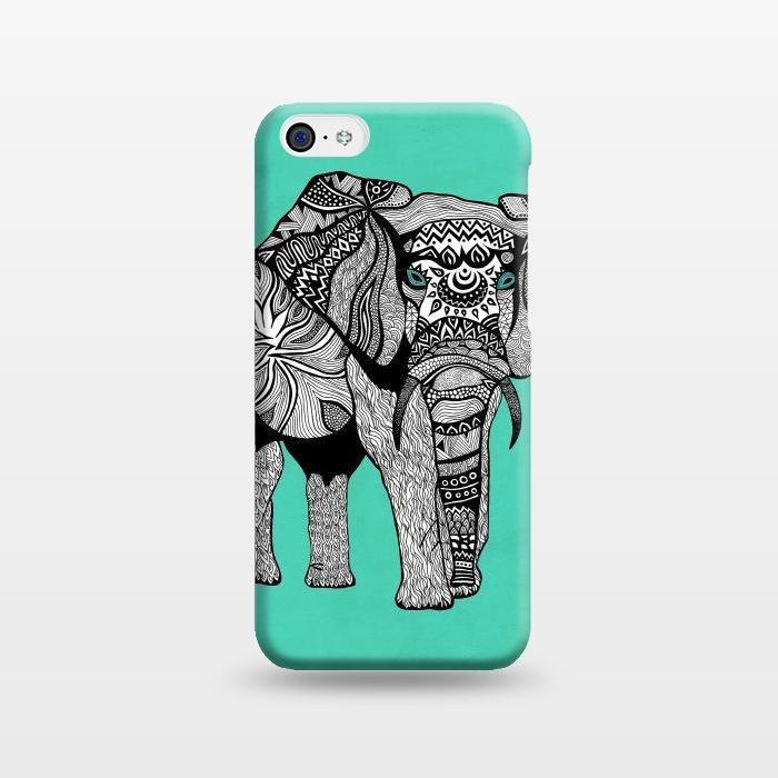 AC1238387, Phone Cases, iPhone 5C, SlimFit, Pom Graphic Design, Elephant of Namibia, Designers,