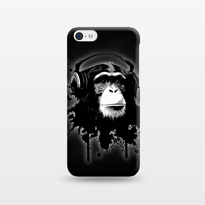AC1238421, Phone Cases, iPhone 5C, SlimFit, Nicklas Gustafsson, Monkey business Black, Designers,