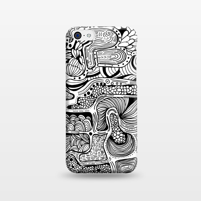AC1238441, Phone Cases, iPhone 5C, SlimFit, Eleaxart, El Reflejo, Designers,
