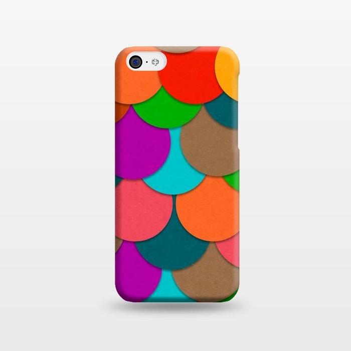 AC1238444, Phone Cases, iPhone 5C, SlimFit, Eleaxart, Circles, Designers,