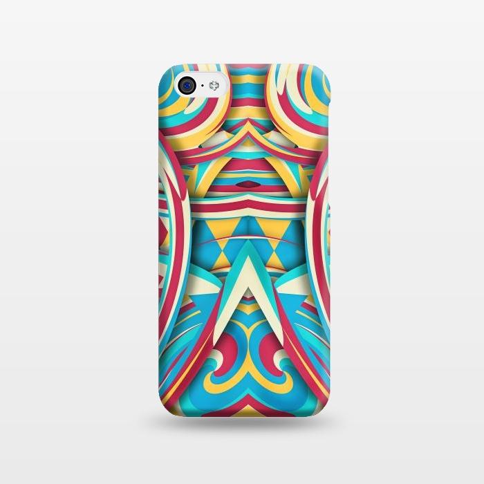 AC1238447, Phone Cases, iPhone 5C, SlimFit, Eleaxart, Spiral Color, Designers,