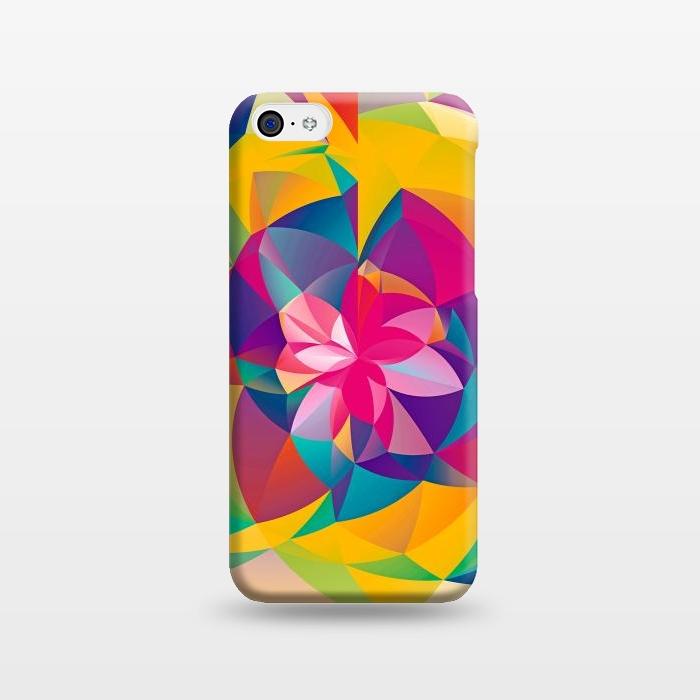 AC1238448, Phone Cases, iPhone 5C, SlimFit, Eleaxart, Acid Blossom, Designers,