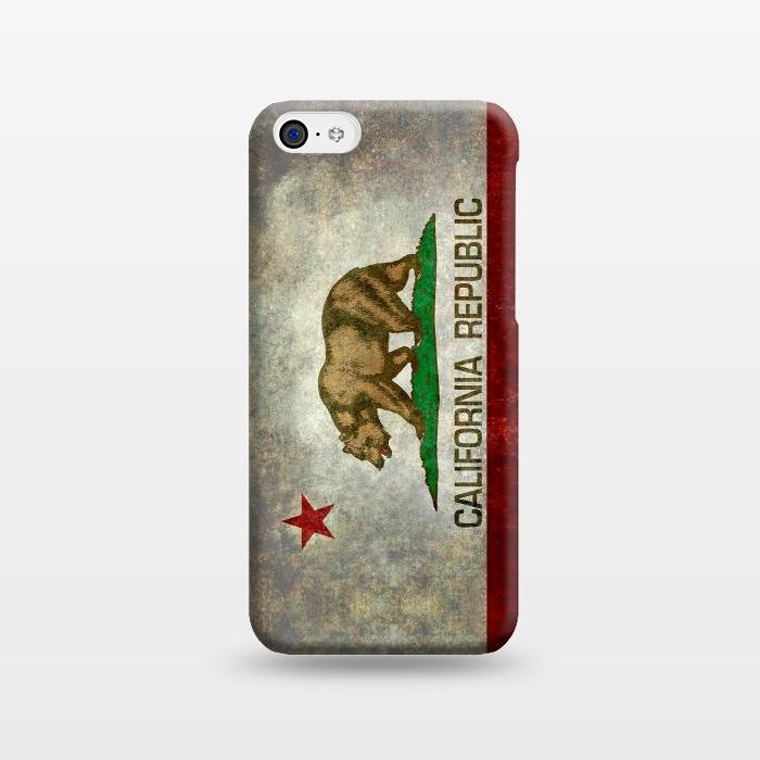AC1238482, Phone Cases, iPhone 5C, SlimFit, Bruce Stanfield, California Republic State, Designers,
