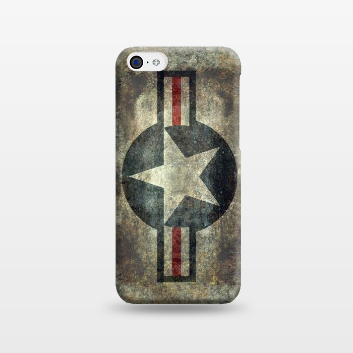 AC1238484, Phone Cases, iPhone 5C, SlimFit, Bruce Stanfield, Airforce Roundel Retro, Designers,