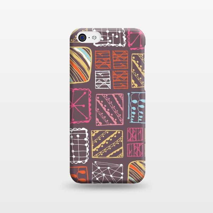 AC1238501, Phone Cases, iPhone 5C, SlimFit, Rachael Taylor, Doodle Squares, Designers,