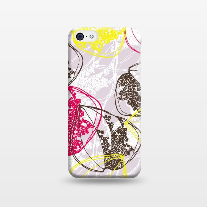 AC1238506, Phone Cases, iPhone 5C, SlimFit, Rachael Taylor, Organic Retro Leaves, Designers,