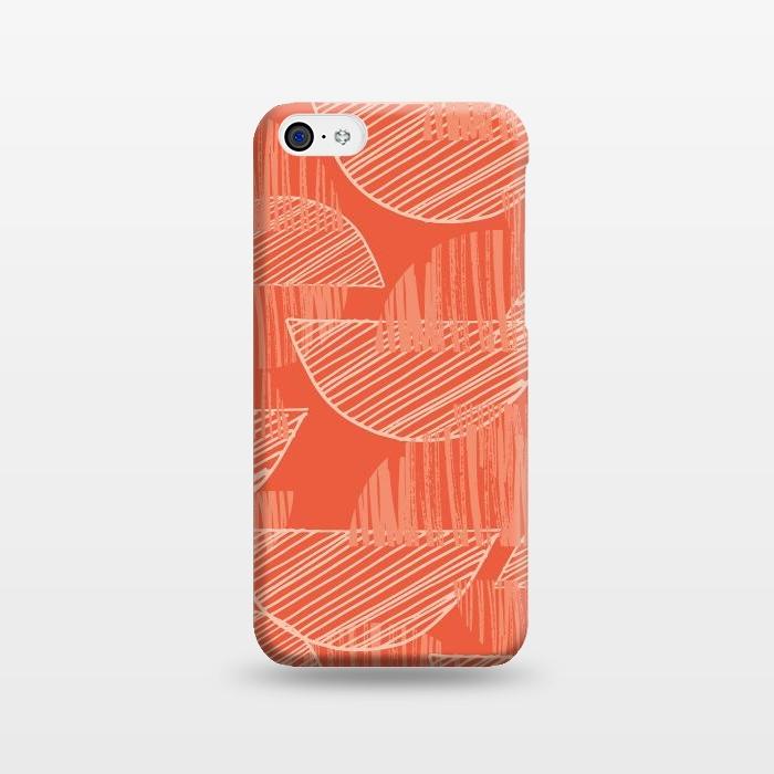 AC1238508, Phone Cases, iPhone 5C, SlimFit, Rachael Taylor, Orange Arcs, Designers,