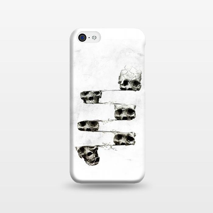 AC1238561, Phone Cases, iPhone 5C, SlimFit, Ali Gulec, Skull 3, Designers,