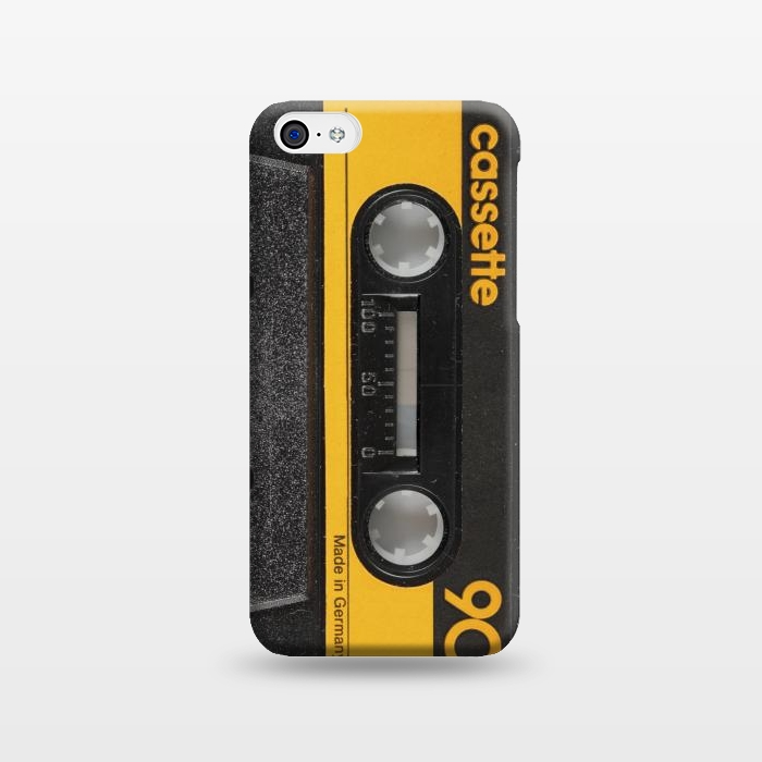 AC1238631, Phone Cases, iPhone 5C, SlimFit, Diego Tirigall, CASSETTE YELLOW, Designers,