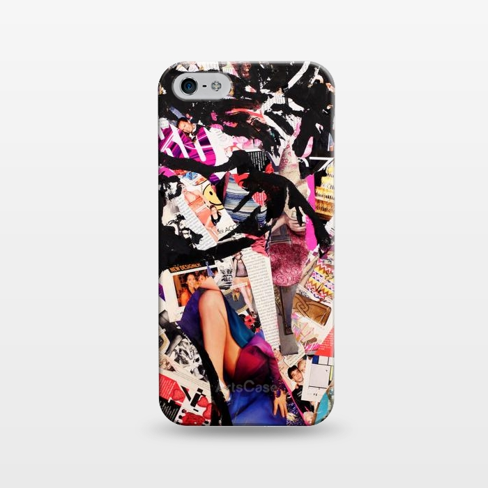 AC124312, Phone Cases, iPhone 5/5E/5s, SlimFit, Amy Smith, F_cked, Designers,