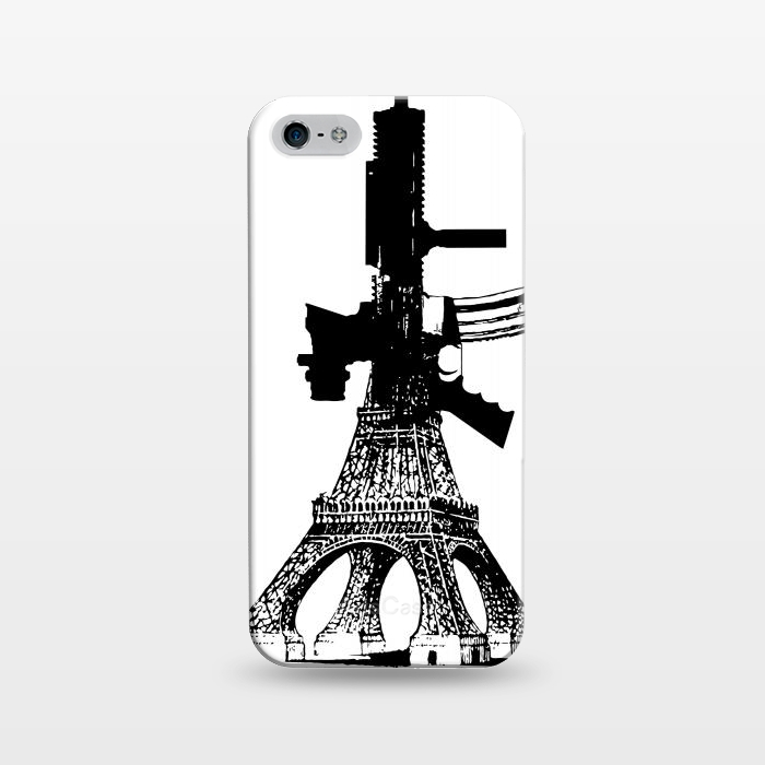 AC1243142, Phone Cases, iPhone 5/5E/5s, SlimFit, Brandon Combs, Eiffel Power, Designers,