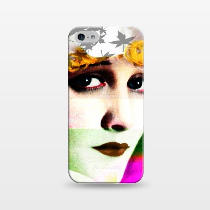 AC1243145, Phone Cases, iPhone 5/5E/5s, SlimFit, Brandon Combs, Miss Moon, Designers,