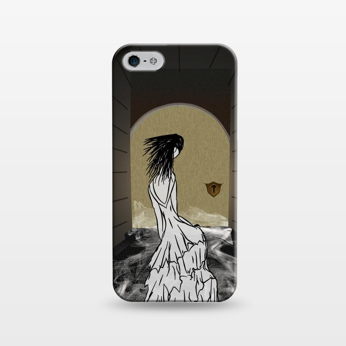 AC124316, Phone Cases, iPhone 5/5E/5s, SlimFit, Amy Smith, Ghost in the Hallway, Designers,