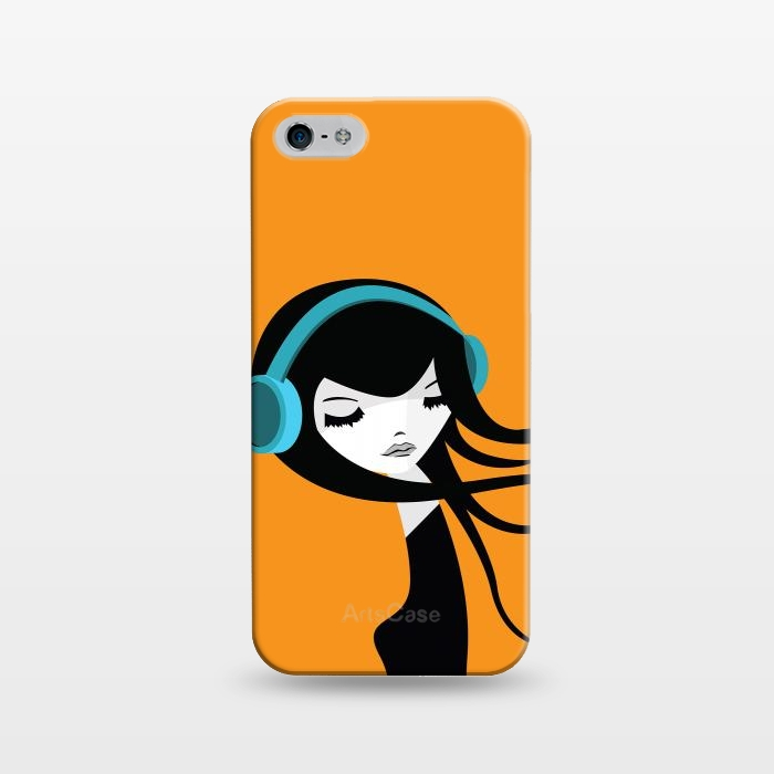 AC1243164, Phone Cases, iPhone 5/5E/5s, SlimFit, Volkan Dalyan, Flow in the Music, Designers,