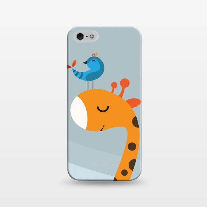 AC1243168, Phone Cases, iPhone 5/5E/5s, SlimFit, Volkan Dalyan, Orange, Designers,