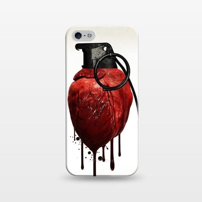 AC1243185, Phone Cases, iPhone 5/5E/5s, SlimFit, Nicklas Gustafsson, Heart Grenade, Designers,