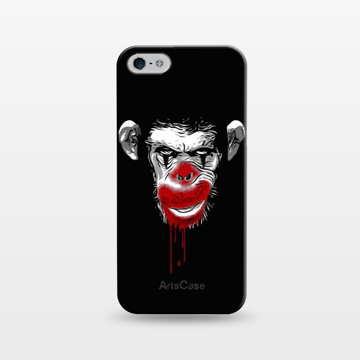 AC1243190, Phone Cases, iPhone 5/5E/5s, SlimFit, Nicklas Gustafsson, Evil Monkey Clown, Designers,