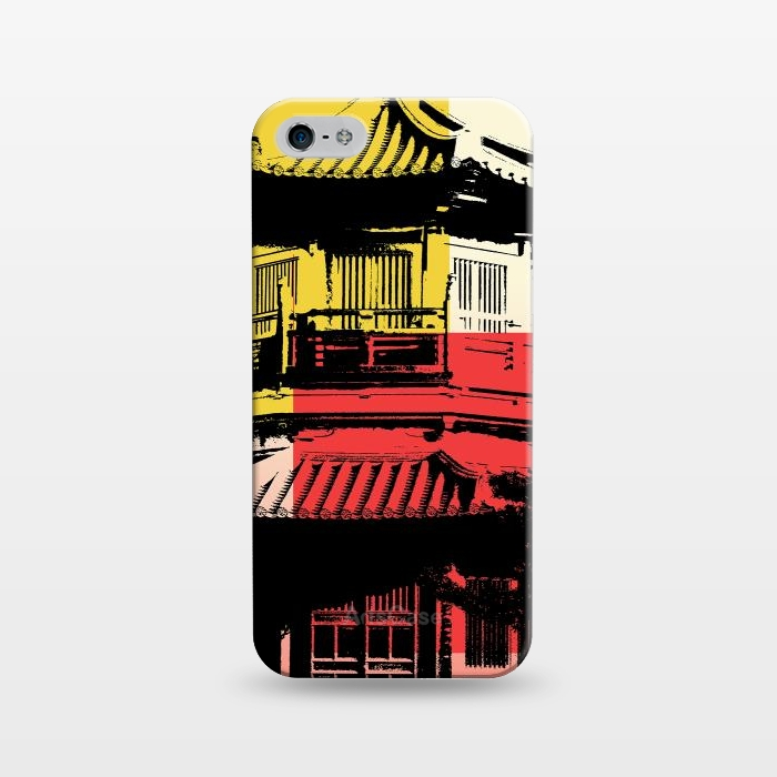 AC124320, Phone Cases, iPhone 5/5E/5s, SlimFit, Amy Smith, Temple, Designers,