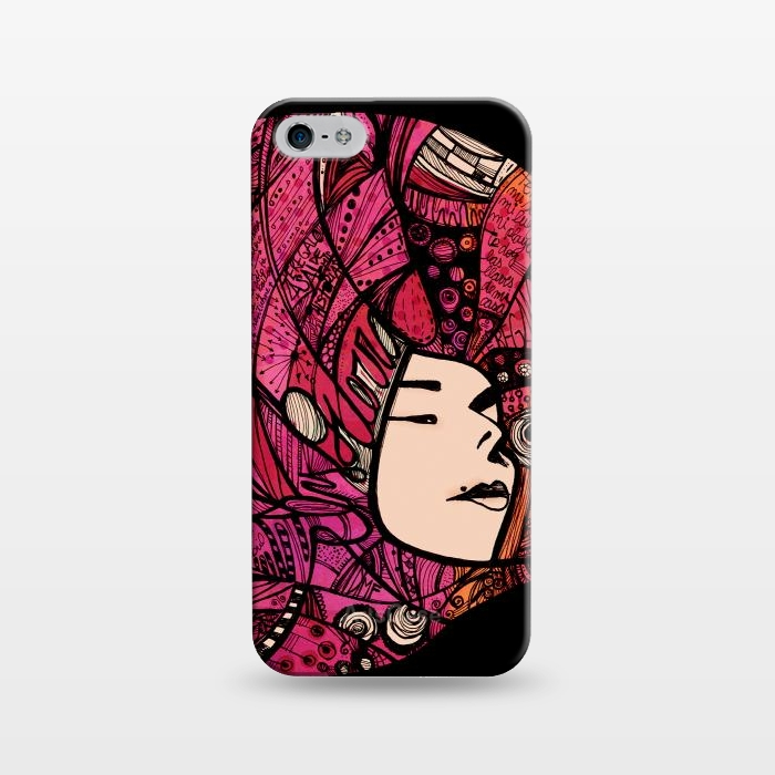 AC1243203, Phone Cases, iPhone 5/5E/5s, SlimFit, Maria Teresa Canepa, Ely Guerra, Designers,
