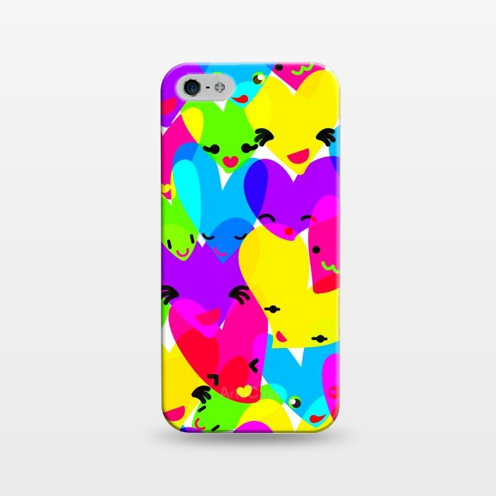 AC1243230, Phone Cases, iPhone 5/5E/5s, SlimFit, MaJoBV, Sweet Hearts, Designers,